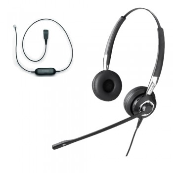 Jabra BIZ 2400 Duo NC Headset Including GN1200 Smart Cord