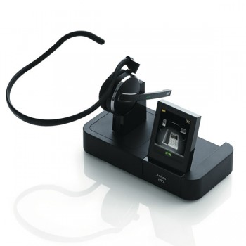 Jabra PRO 9470 Mono Mutliuse Headset with Touch Screen Base