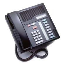 Meridian Norstar M7208 Phone - Refurbished - Black