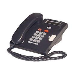 Nortel Meridian Norstar T7100 Systemtelefon - Schwarz - Erneuert