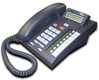 Nortel Meridian Norstar T7208 Systemtelefon - Schwarz - Erneuert