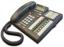 Nortel Meridian Norstar T7316e Systemtelefon - Schwarz - Erneuert