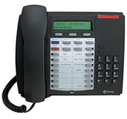 Mitel Superset 4025 Telefone - Erneuert - Dunkelgrau