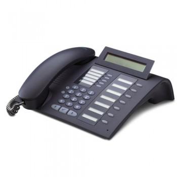 Siemens Optipoint 420 Standard Phone - Erneuert - Schwarz