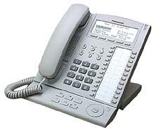 Panasonic KXT7636 System Telephone - Erneuert - Schwarz