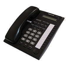 Panasonic KXT7730 E Display Telefone - Schwarz