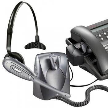 Plantronics CS60 Schnurlos Headset mit HL10 Telefonhörer-Lifter - Runderneuert