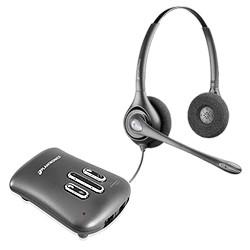 Plantronics DW261N Supraplus Digitaler binauraler Kopfhörer mit Rauschunterdrückung