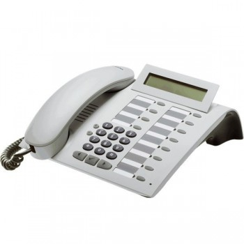 Siemens optiPoint 500 Basic Telefon - Erneuert - Weiß