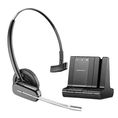 plantronics savi office w740 wireless kopfh rer. Black Bedroom Furniture Sets. Home Design Ideas