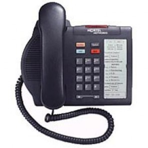 Nortel Option M3901 Entry Systemtelefon - Runderneuert - Grau