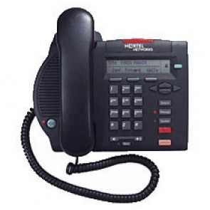 Nortel Option M3902 Basic Systemtelefon - Runderneuert - Grau
