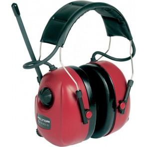 Peltor Workstyle Gehörschutzradio FM-Radio - Rot