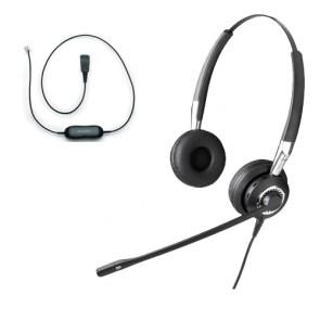 Jabra BIZ 2400 Duo NC Headset Including GN1200 Smart Cord