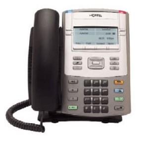 Avaya 1120E IP-Telefon - Dunkelgrau - Erneuert