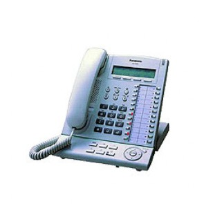 Panasonic KXT7630 System Telefone - Erneuert - Schwarz