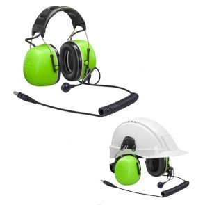 3M™ Peltor™ CH-5 High Attenuating Flex Headset - Hi Viz