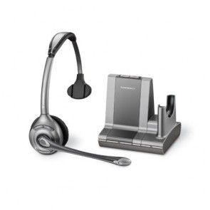 Plantronics Savi Office Schnurlos Monaural Headset - WO300/A - Erneuert