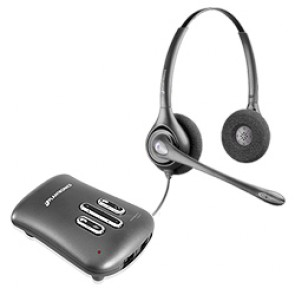 Plantronics DW261N Supraplus Digital Binaural Noise Cancelling Headset