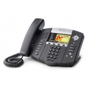 Polycom SoundPoint IP 670 VoIP Telefon mit Farbdisplay