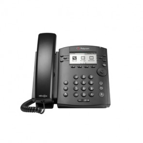 Polycom VVX301 HD Voice Telefon SIP mit 6 Leitungen