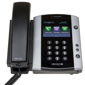 Polycom VVX501 Media Profesional Telefon mit Touchscreen