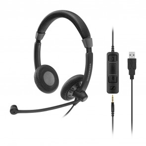 Sennheiser SC75  USB Headset + 3,5mm Klinkenstecker