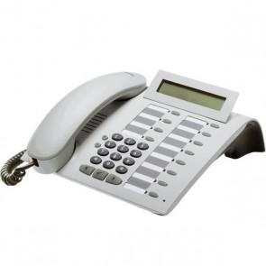 Siemens optiPoint 500 Basic Telefon - Erneuert - Weiß Digitales Freisprech-Systemtelefon
