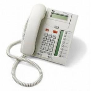 Nortel Meridian Norstar T7208 Systemtelefon - Grau - Erneuert