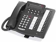 Avaya Definity 6424D+M Telefono - Nero