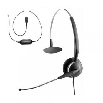 Jabra 2100 3 in 1 Mono Flex Boom Headset including Smart Lead - Refurbished