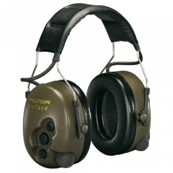 Cuffie Protettori Peltor ProTac II Active Listening - Verde