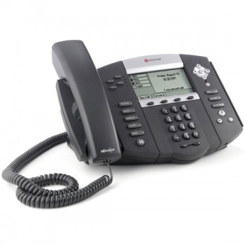 Telefono Ethernet Polycom SoundPoint IP 560 HD VoIP Gigabit