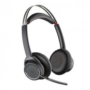 Plantronics Voyager Focus UC MS B825 Auricolari bluetooth professionali, 2 orecchio