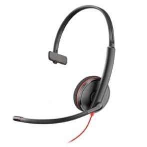 Plantronics Blackwire C3210 USB Connessione USB e jack da 3,5 mm, 1 orecchio