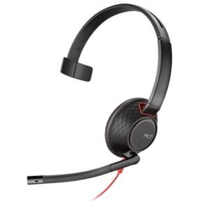 Plantronics Blackwire C5210 Connessione USB e jack da 3,5 mm, 1 orecchio