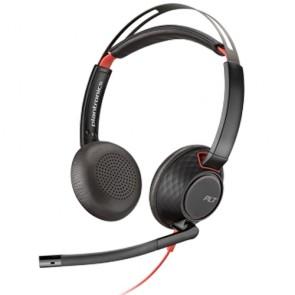 Plantronics Blackwire C5220 Connessione USB e jack da 3,5 mm, 2 orecchio