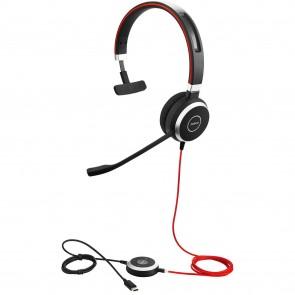 Jabra Evolve 40 3.5mm/USB-C Mono Headset