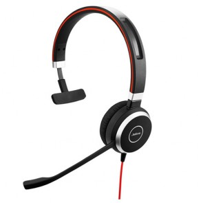 Jabra Evolve 40 3.5mm/USB Mono Headset