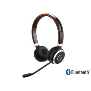 Jabra Evolve 65 USB / Bluetooth Stereo Cuffie stereo, Bluetooth, NFC