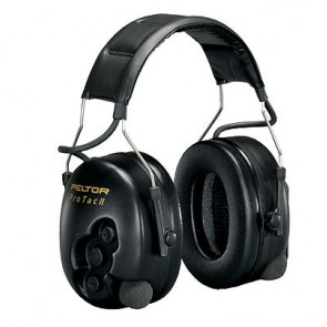 Cuffie Protettori Peltor ProTac II Active Listening - Nero