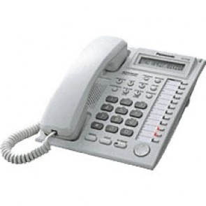 Panasonic KXT7730 E Display Telefono - Bianco