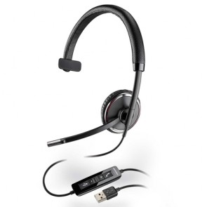 Plantronics Blackwire C510 Cuffia per PC USB, 1 orecchio