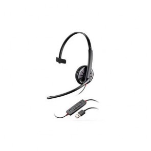 Plantronics Blackwire C310 Cuffia per PC USB, 1 orecchio