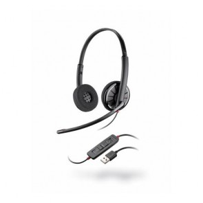 Plantronics Blackwire C320 Cuffia per PC USB, 2 orecchio