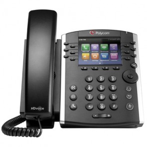 Polycom VVX411 HD Voice Gigabit Teléfono Gigabit SIP con 12 líneas
