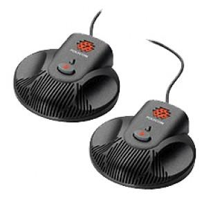 Microfoni di estensione Polycom SoundStation 2  - Pacco di 2