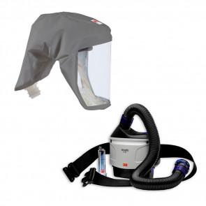 3M Versaflo TR-315 + kit di avviamento ad aria compressa e pacchetto cappuccio respiratore S-333