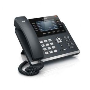 Yealink SIP-T46S UC SFB  Telefono IP semplice con 6 account SIP e 10 tasti