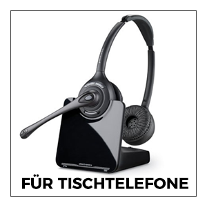 Kopfhörer für Tischtelefone